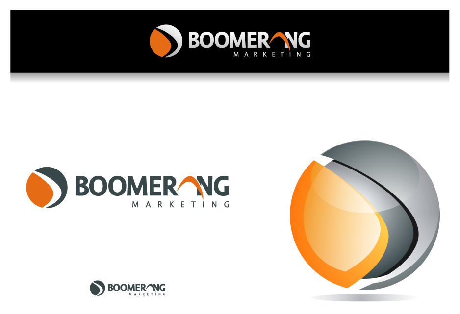Logo Design by graphicleaf - Entry No. 113 in the Logo Design Contest Unique Logo Design Wanted for Boomerang Marketing.