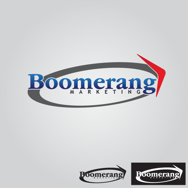 Logo Design by lumerb - Entry No. 114 in the Logo Design Contest Unique Logo Design Wanted for Boomerang Marketing.