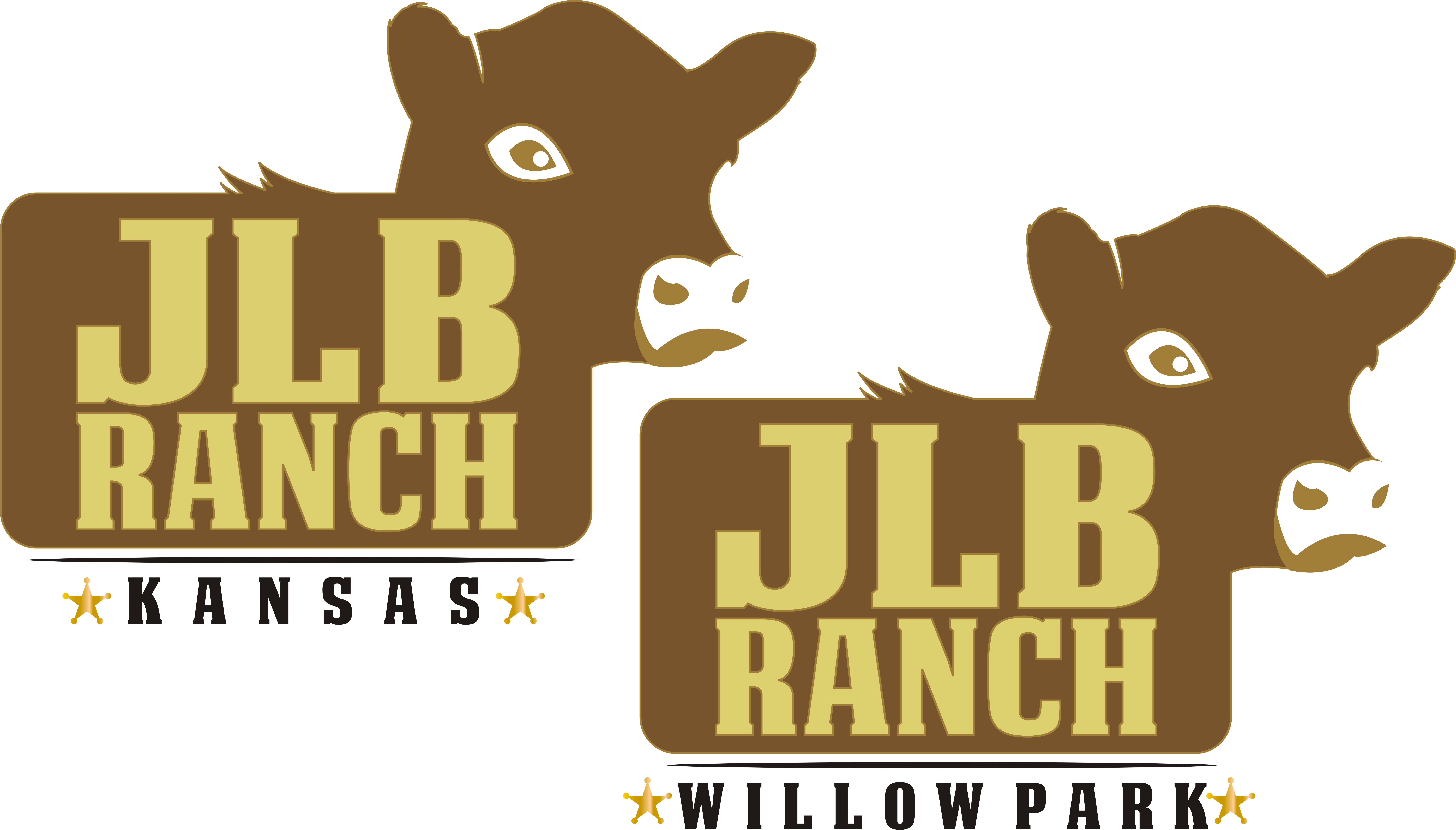 Logo Design by kambal - Entry No. 138 in the Logo Design Contest Logo Design Needed for Exciting New Company JLB Ranch Kansas.