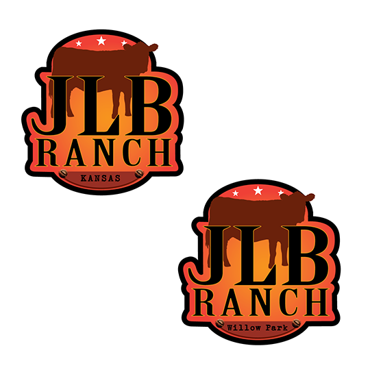 Logo Design by robken0174 - Entry No. 139 in the Logo Design Contest Logo Design Needed for Exciting New Company JLB Ranch Kansas.