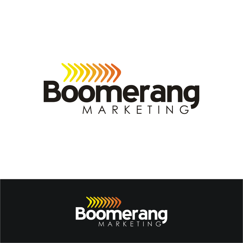 Logo Design by Private User - Entry No. 116 in the Logo Design Contest Unique Logo Design Wanted for Boomerang Marketing.
