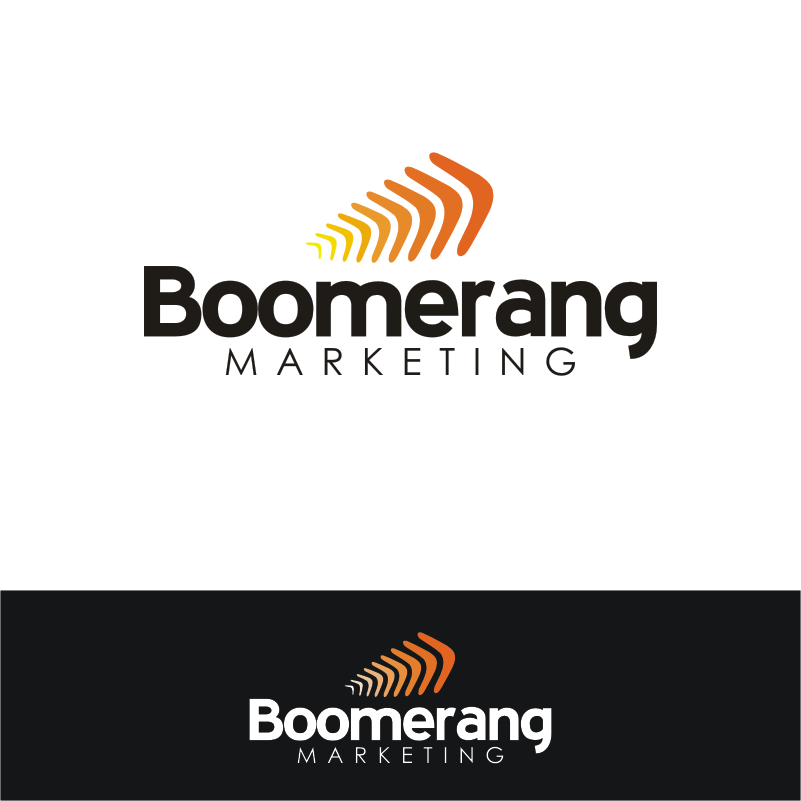 Logo Design by Private User - Entry No. 117 in the Logo Design Contest Unique Logo Design Wanted for Boomerang Marketing.