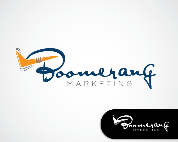 Logo Design by turnover - Entry No. 120 in the Logo Design Contest Unique Logo Design Wanted for Boomerang Marketing.