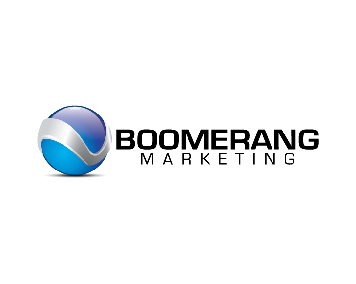 Logo Design by turnover - Entry No. 121 in the Logo Design Contest Unique Logo Design Wanted for Boomerang Marketing.