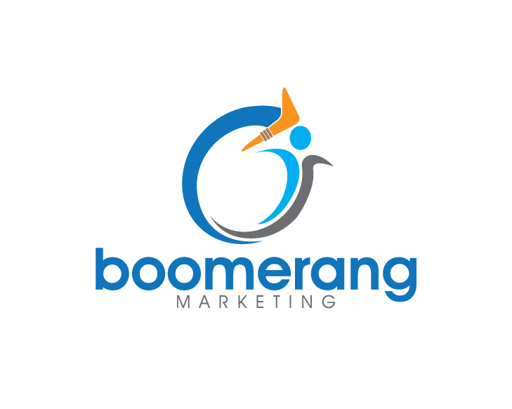 Logo Design by turnover - Entry No. 122 in the Logo Design Contest Unique Logo Design Wanted for Boomerang Marketing.