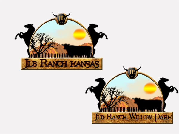 Logo Design by Mythos Designs - Entry No. 153 in the Logo Design Contest Logo Design Needed for Exciting New Company JLB Ranch Kansas.