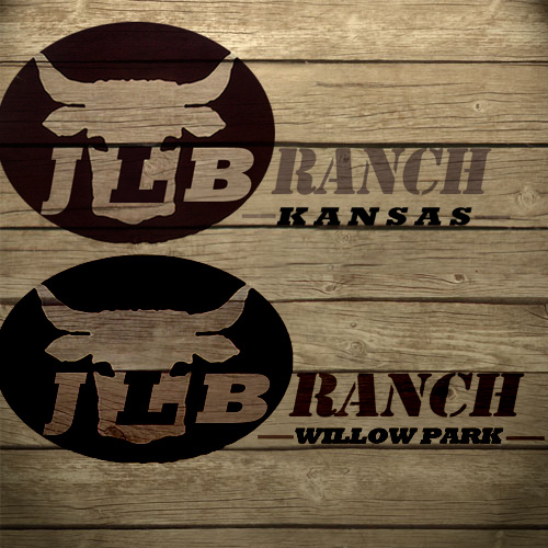 Logo Design by Private User - Entry No. 158 in the Logo Design Contest Logo Design Needed for Exciting New Company JLB Ranch Kansas.