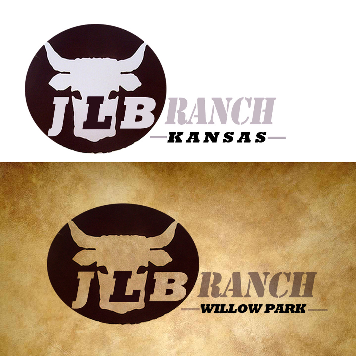 Logo Design by Private User - Entry No. 159 in the Logo Design Contest Logo Design Needed for Exciting New Company JLB Ranch Kansas.