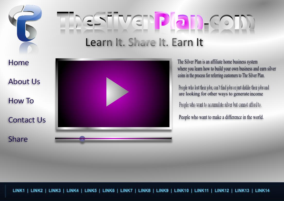 Web Page Design by Heri Susanto - Entry No. 8 in the Web Page Design Contest Web Page Design for The Silver Plan.