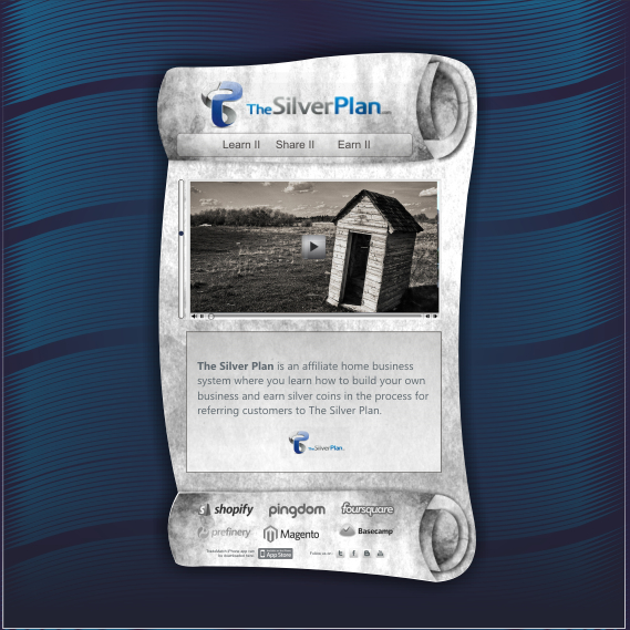 Web Page Design by Think - Entry No. 11 in the Web Page Design Contest Web Page Design for The Silver Plan.