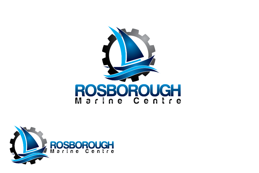 Logo Design by Moin Javed - Entry No. 2 in the Logo Design Contest Rosborough Marine Centre Logo Design.