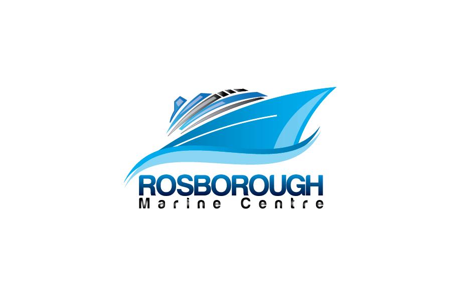 Logo Design by Moin Javed - Entry No. 3 in the Logo Design Contest Rosborough Marine Centre Logo Design.