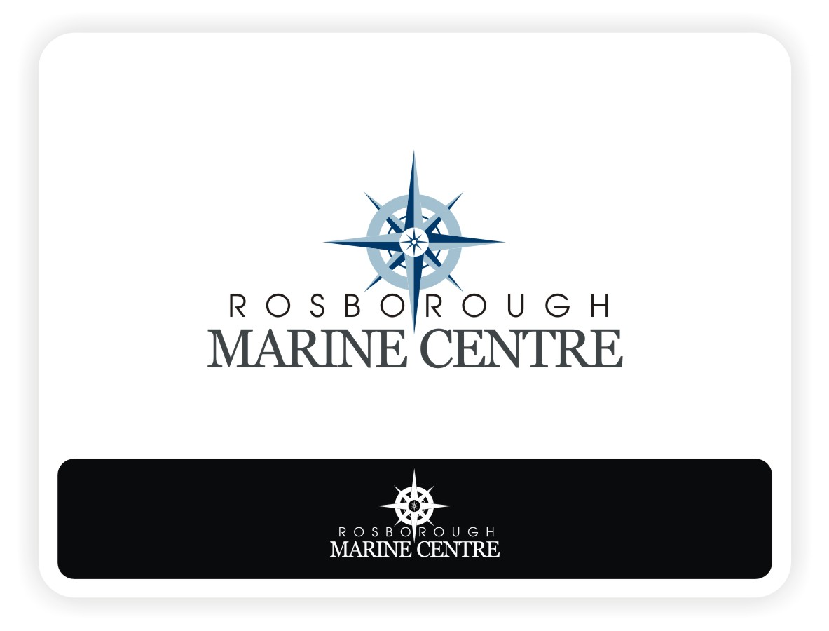 Logo Design by Eric White Origami Associates - Entry No. 4 in the Logo Design Contest Rosborough Marine Centre Logo Design.