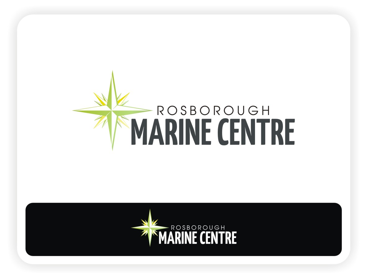 Logo Design by Eric White Origami Associates - Entry No. 6 in the Logo Design Contest Rosborough Marine Centre Logo Design.
