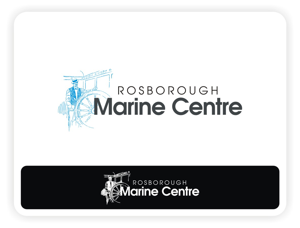 Logo Design by Eric White Origami Associates - Entry No. 7 in the Logo Design Contest Rosborough Marine Centre Logo Design.