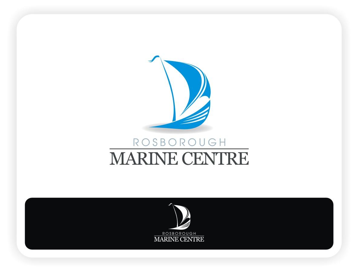 Logo Design by Eric White Origami Associates - Entry No. 8 in the Logo Design Contest Rosborough Marine Centre Logo Design.