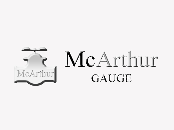 Logo Design by Mythos Designs - Entry No. 12 in the Logo Design Contest Fun Logo Design for MacArthur Gauge.