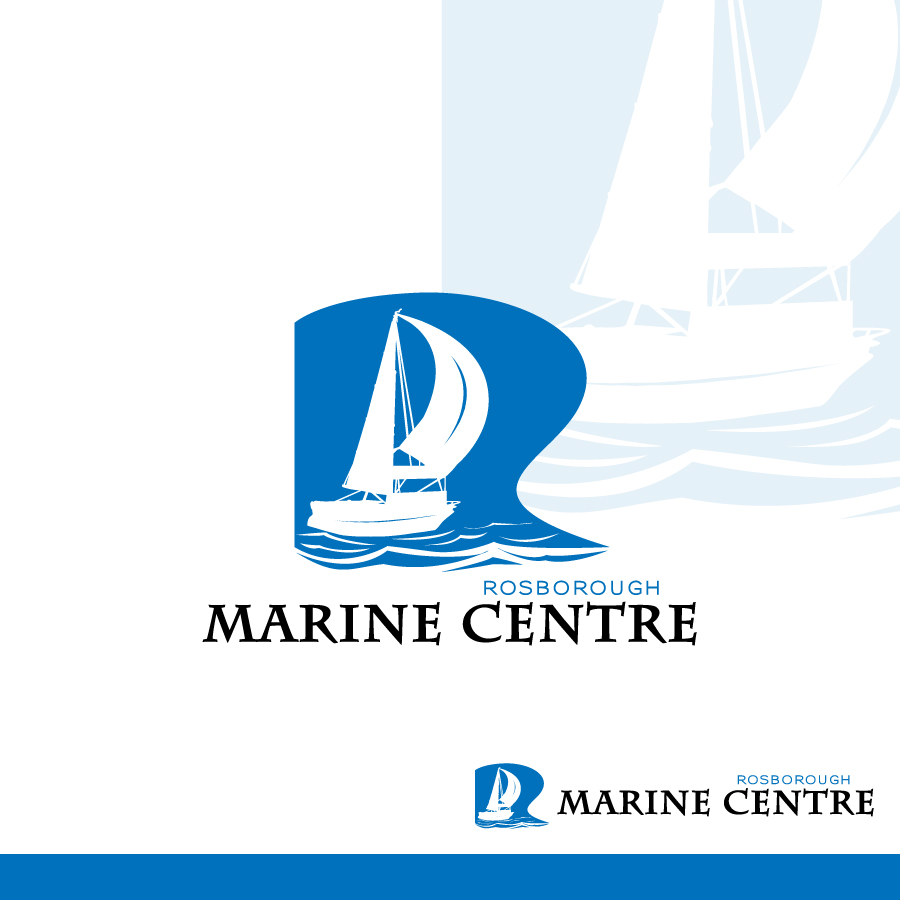 Logo Design by Edward Goodwin - Entry No. 14 in the Logo Design Contest Rosborough Marine Centre Logo Design.