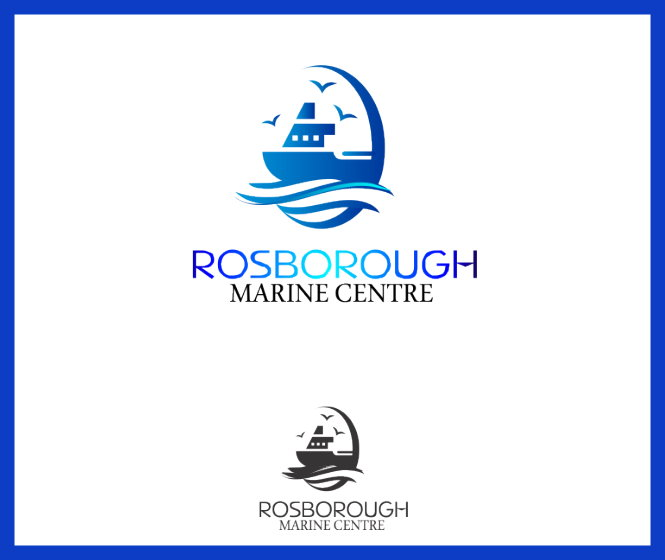 Logo Design by Clifton Gage - Entry No. 15 in the Logo Design Contest Rosborough Marine Centre Logo Design.