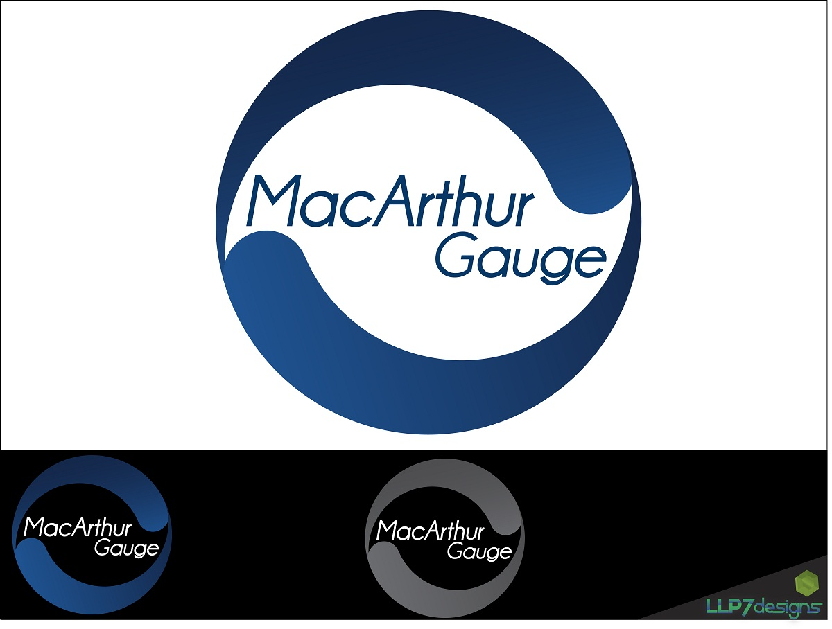 Logo Design by LLP7 - Entry No. 18 in the Logo Design Contest Fun Logo Design for MacArthur Gauge.