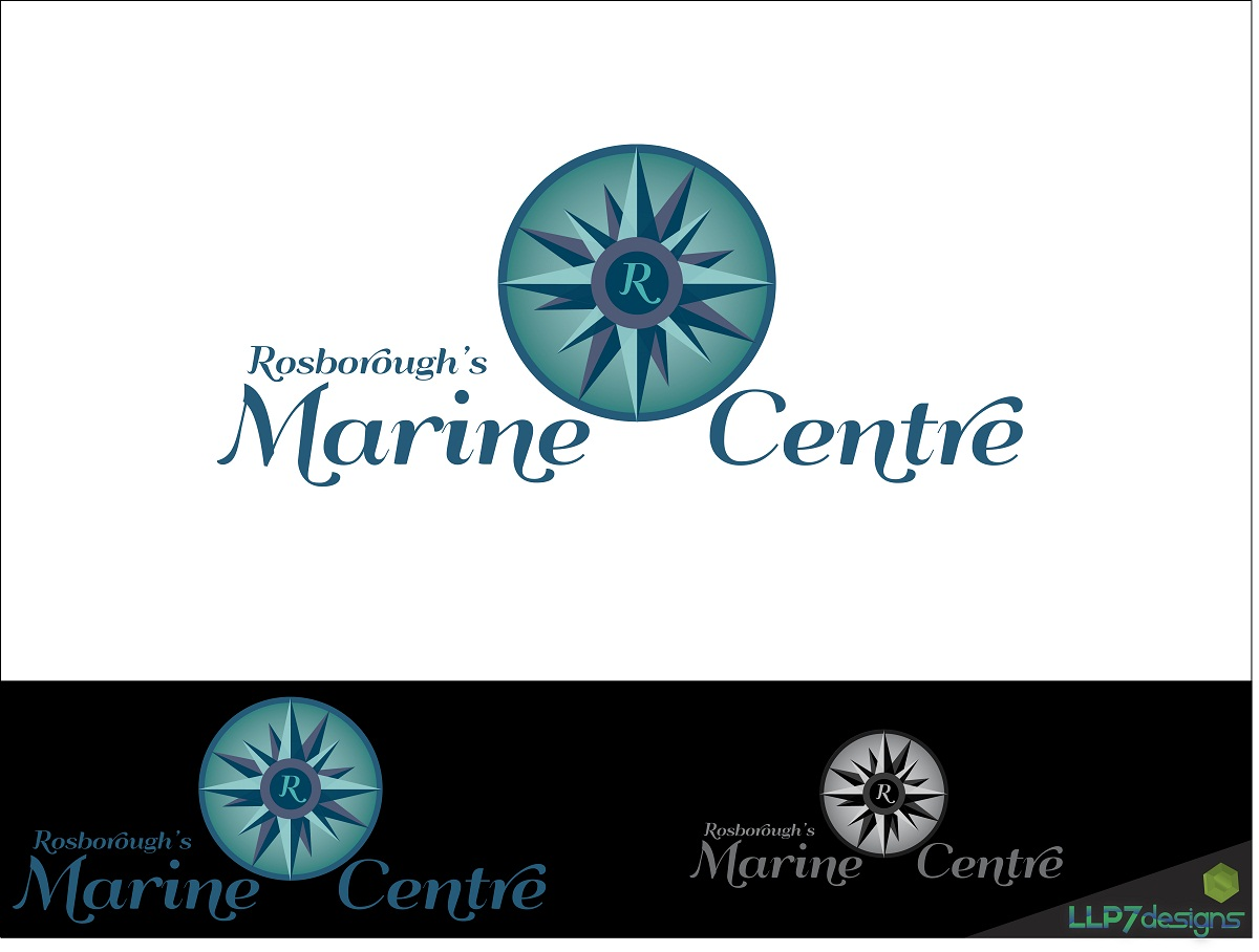 Logo Design by LLP7 - Entry No. 17 in the Logo Design Contest Rosborough Marine Centre Logo Design.