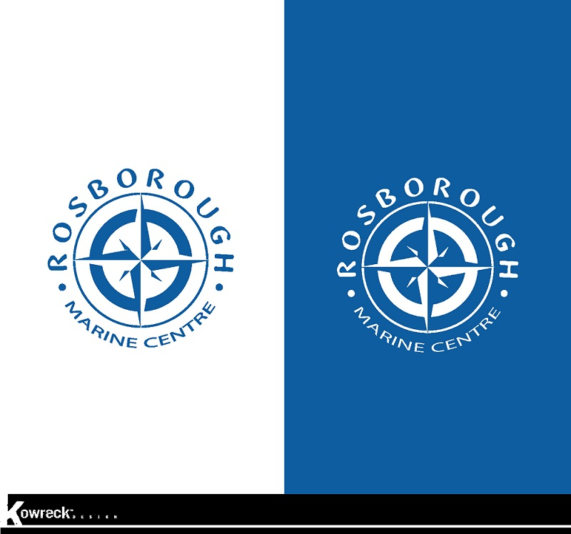 Logo Design by kowreck - Entry No. 18 in the Logo Design Contest Rosborough Marine Centre Logo Design.