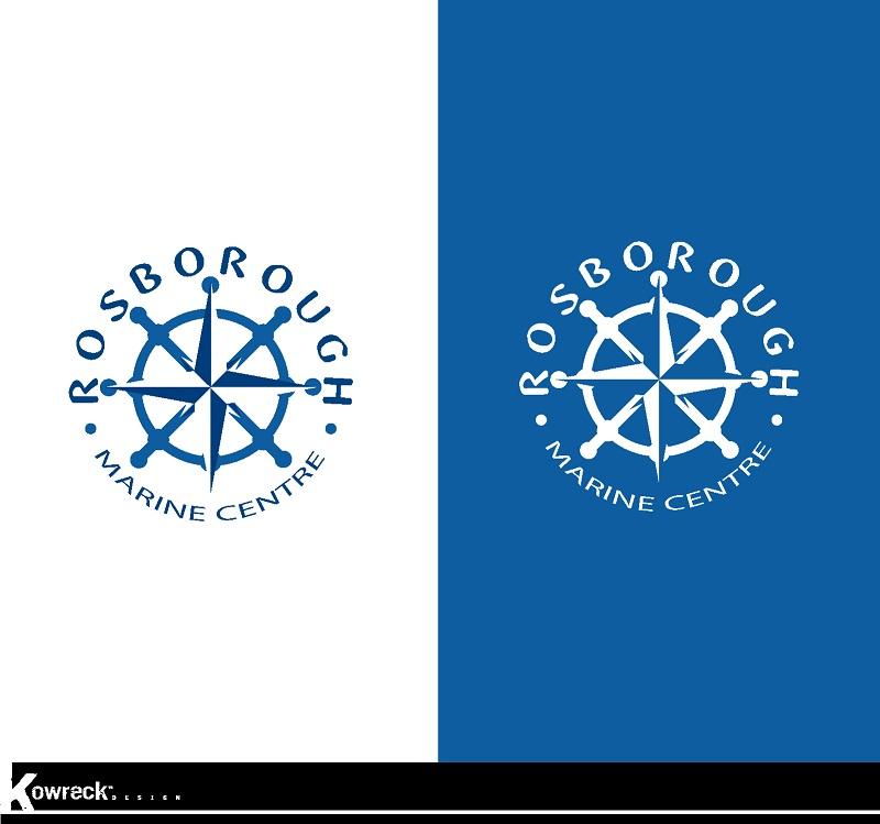 Logo Design by kowreck - Entry No. 19 in the Logo Design Contest Rosborough Marine Centre Logo Design.