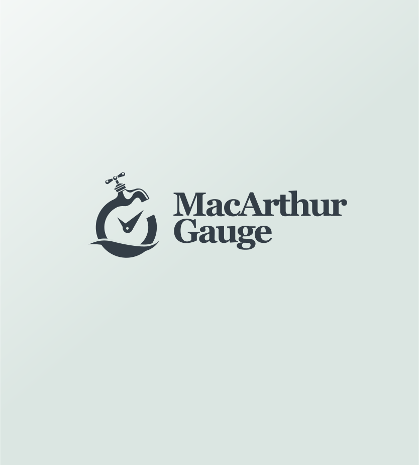 Logo Design by Jorge Sardon - Entry No. 22 in the Logo Design Contest Fun Logo Design for MacArthur Gauge.