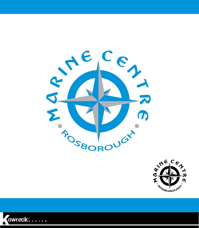 Logo Design by kowreck - Entry No. 20 in the Logo Design Contest Rosborough Marine Centre Logo Design.