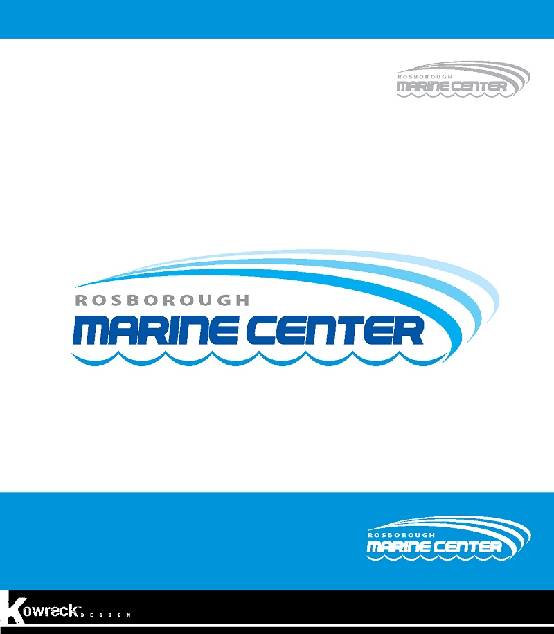 Logo Design by kowreck - Entry No. 23 in the Logo Design Contest Rosborough Marine Centre Logo Design.