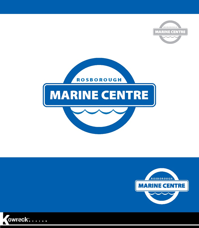 Logo Design by kowreck - Entry No. 24 in the Logo Design Contest Rosborough Marine Centre Logo Design.