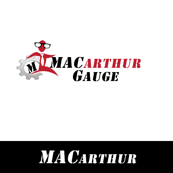 Logo Design by Private User - Entry No. 24 in the Logo Design Contest Fun Logo Design for MacArthur Gauge.