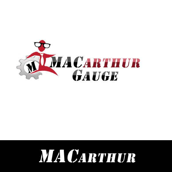 Logo Design by Private User - Entry No. 25 in the Logo Design Contest Fun Logo Design for MacArthur Gauge.