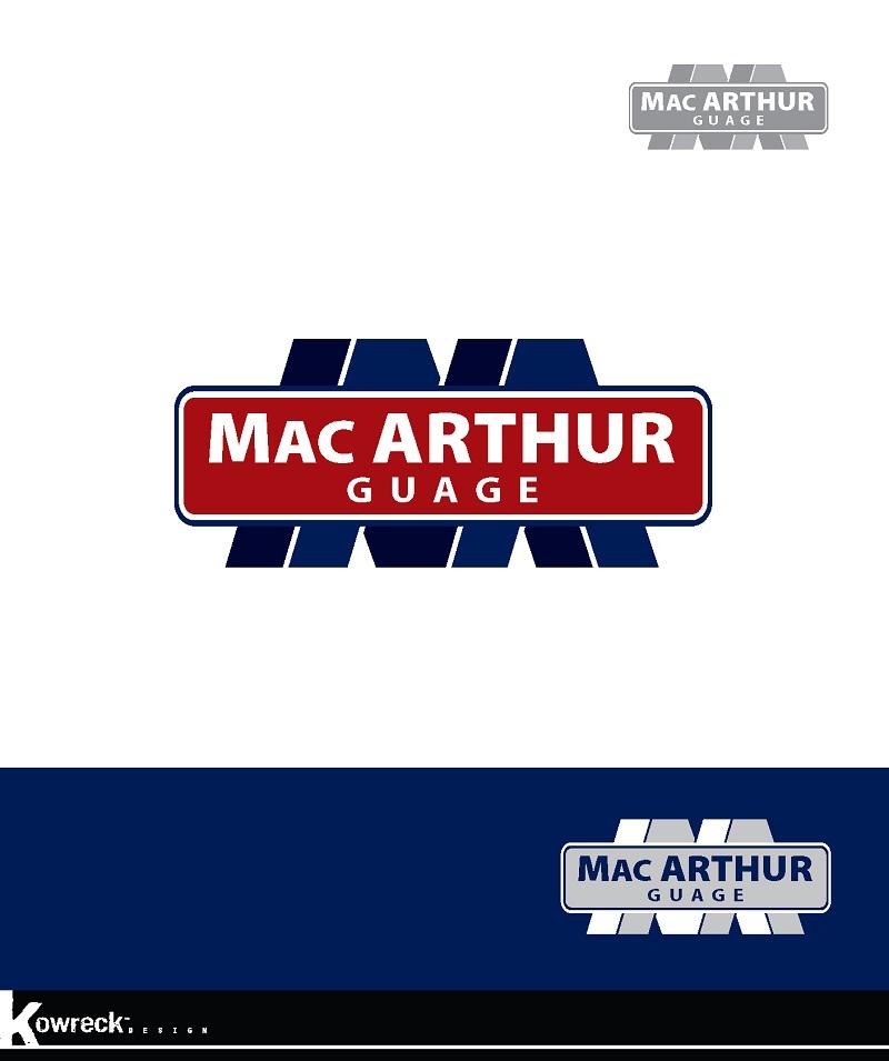 Logo Design by kowreck - Entry No. 26 in the Logo Design Contest Fun Logo Design for MacArthur Gauge.