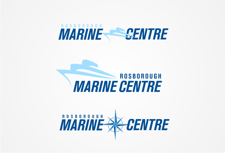 Logo Design by graphicleaf - Entry No. 27 in the Logo Design Contest Rosborough Marine Centre Logo Design.