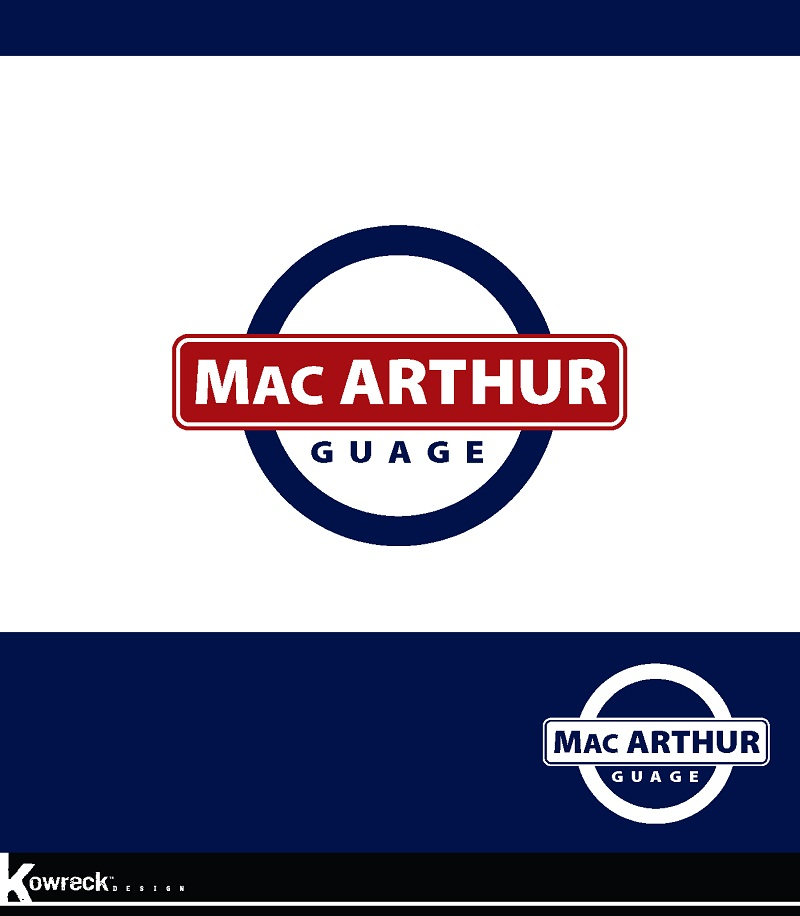 Logo Design by kowreck - Entry No. 28 in the Logo Design Contest Fun Logo Design for MacArthur Gauge.