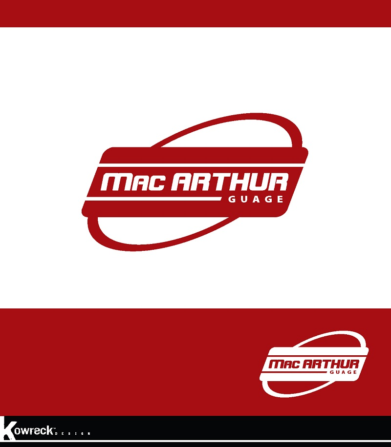 Logo Design by kowreck - Entry No. 29 in the Logo Design Contest Fun Logo Design for MacArthur Gauge.