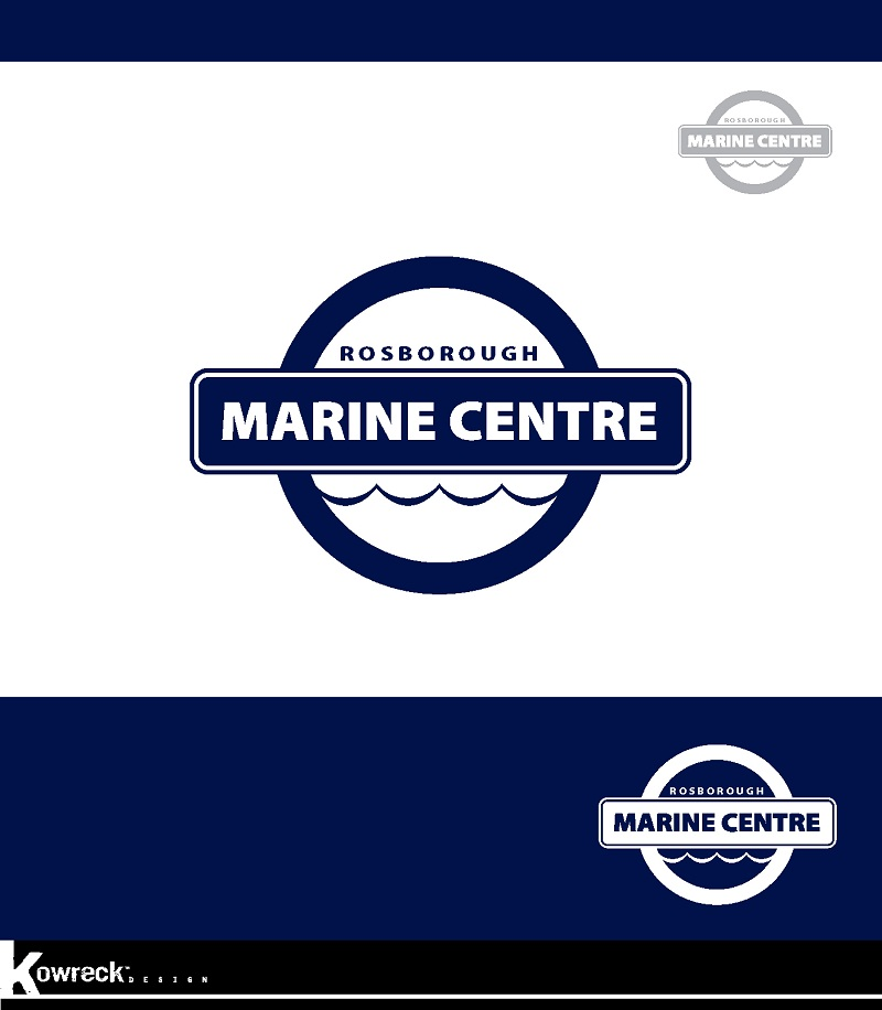 Logo Design by kowreck - Entry No. 30 in the Logo Design Contest Rosborough Marine Centre Logo Design.