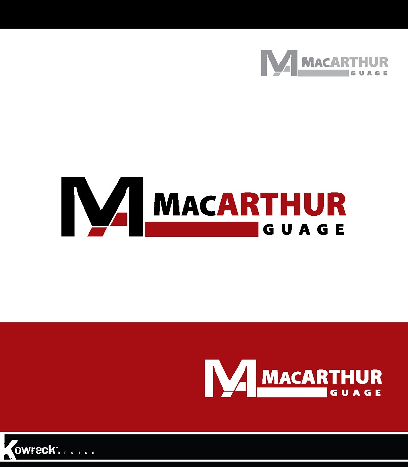 Logo Design by kowreck - Entry No. 32 in the Logo Design Contest Fun Logo Design for MacArthur Gauge.