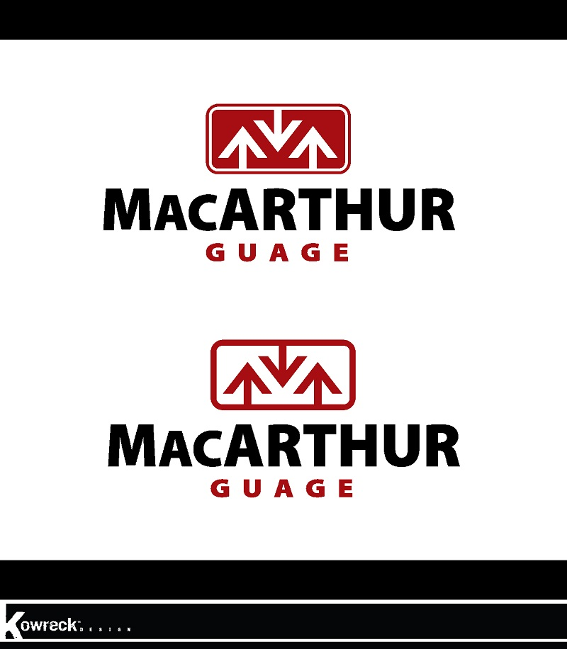 Logo Design by kowreck - Entry No. 33 in the Logo Design Contest Fun Logo Design for MacArthur Gauge.