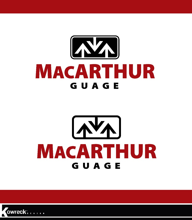 Logo Design by kowreck - Entry No. 34 in the Logo Design Contest Fun Logo Design for MacArthur Gauge.