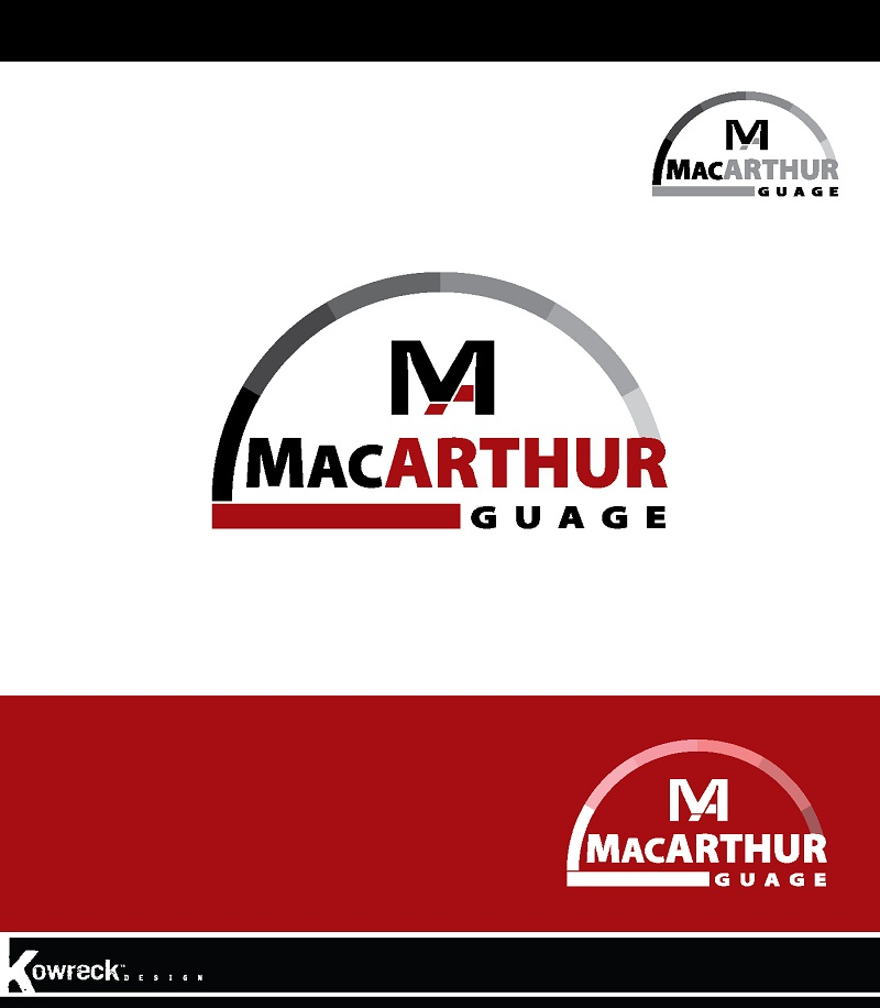 Logo Design by kowreck - Entry No. 35 in the Logo Design Contest Fun Logo Design for MacArthur Gauge.