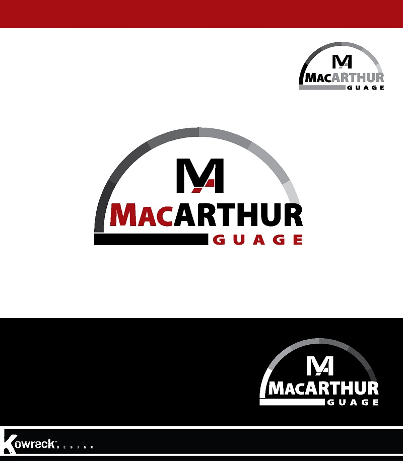 Logo Design by kowreck - Entry No. 36 in the Logo Design Contest Fun Logo Design for MacArthur Gauge.
