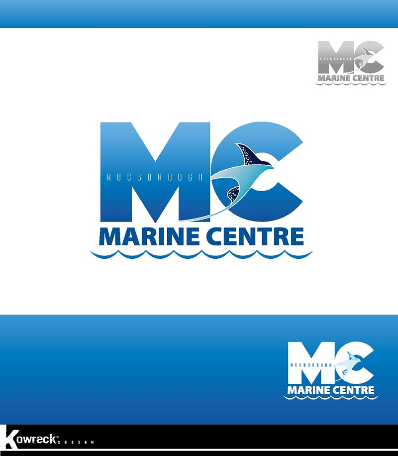 Logo Design by kowreck - Entry No. 31 in the Logo Design Contest Rosborough Marine Centre Logo Design.