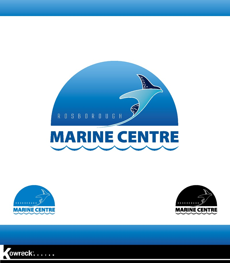 Logo Design by kowreck - Entry No. 32 in the Logo Design Contest Rosborough Marine Centre Logo Design.