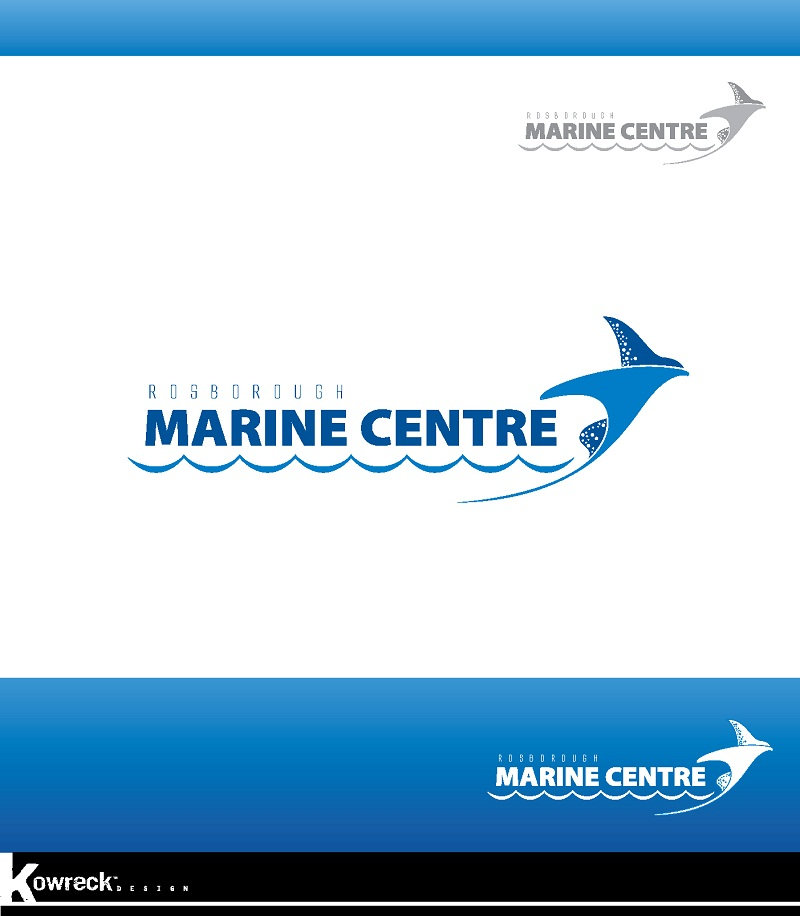 Logo Design by kowreck - Entry No. 33 in the Logo Design Contest Rosborough Marine Centre Logo Design.