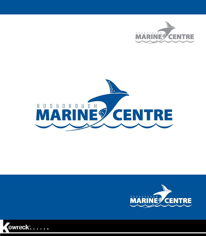 Logo Design by kowreck - Entry No. 37 in the Logo Design Contest Rosborough Marine Centre Logo Design.