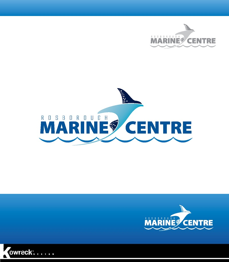 Logo Design by kowreck - Entry No. 43 in the Logo Design Contest Rosborough Marine Centre Logo Design.