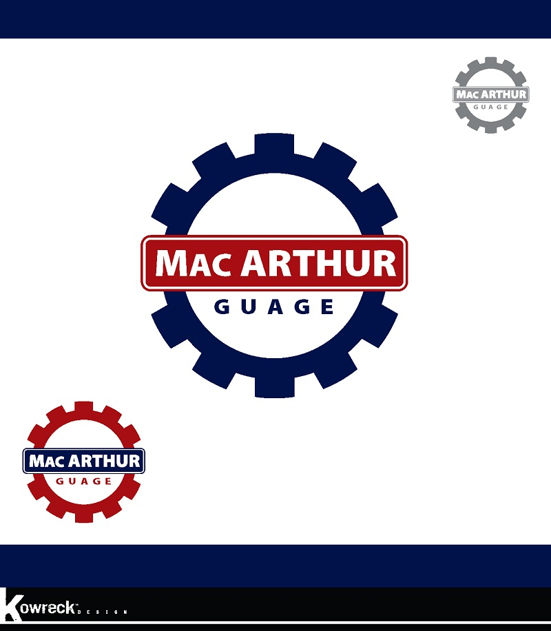 Logo Design by kowreck - Entry No. 37 in the Logo Design Contest Fun Logo Design for MacArthur Gauge.