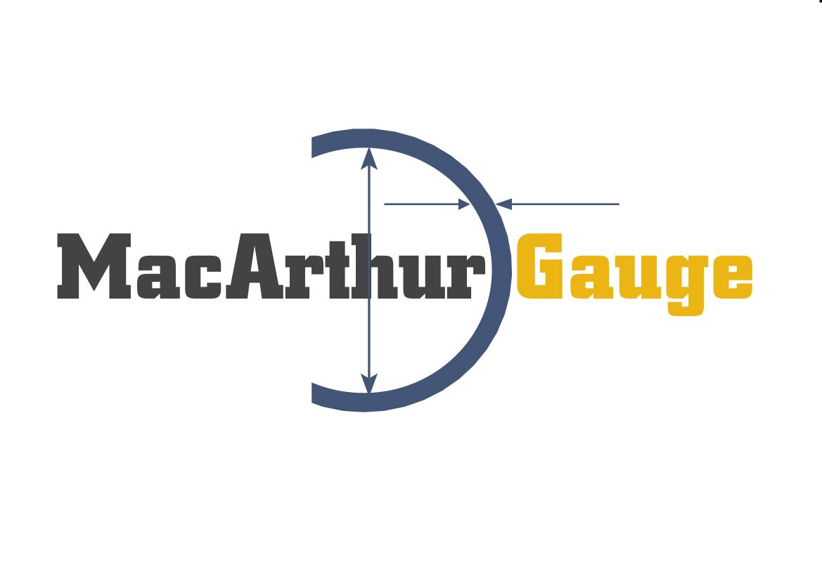 Logo Design by Heri Susanto - Entry No. 39 in the Logo Design Contest Fun Logo Design for MacArthur Gauge.
